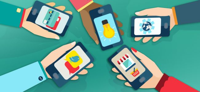 Mobile-First Design illustration