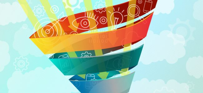 Full-Funnel Marketing concept illustration