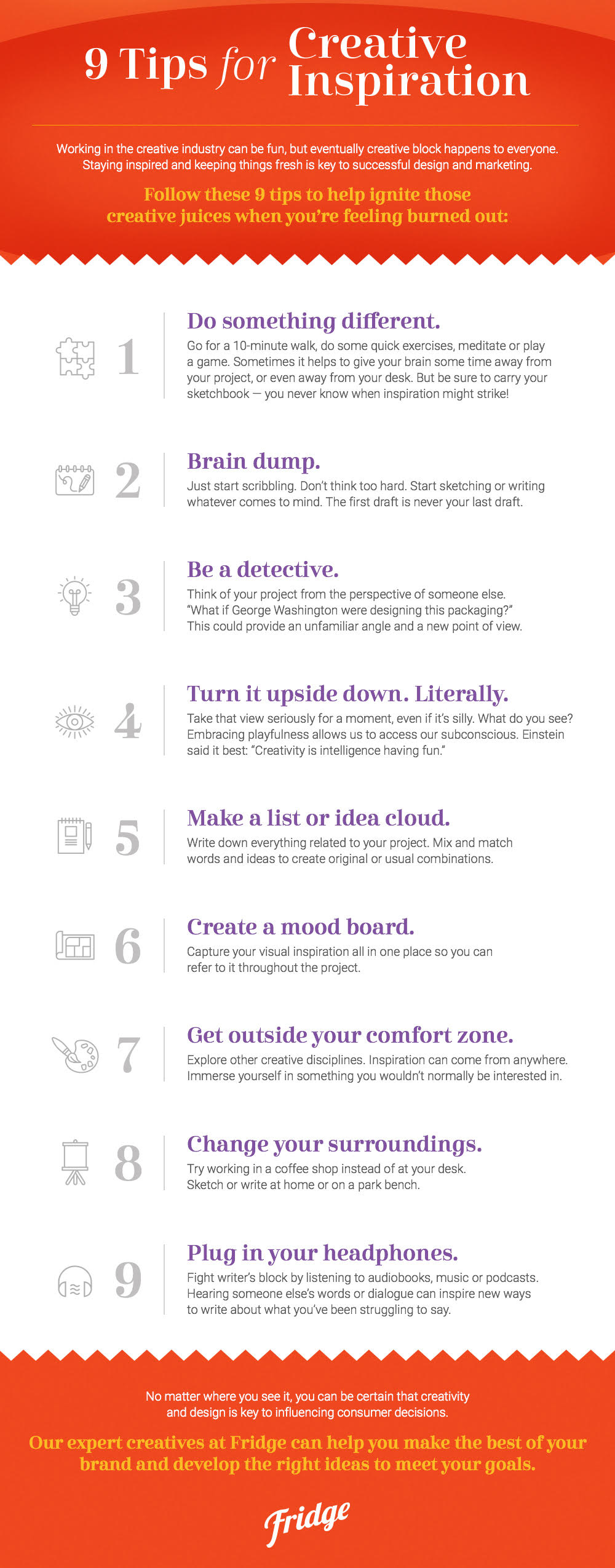 9 Tips for Creative Inspiration from Fridge