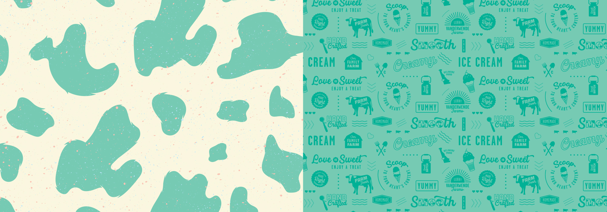 Vanderwende Farm Creamery Brand Elements Refresh
